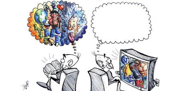 Kitap Okumak ve Televizyon İzlemek